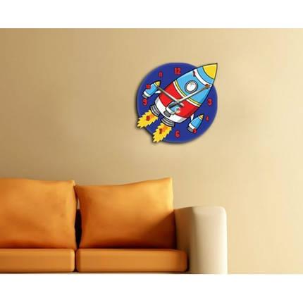 Часы Настенные Детские Rocket (Glozis), фото 2