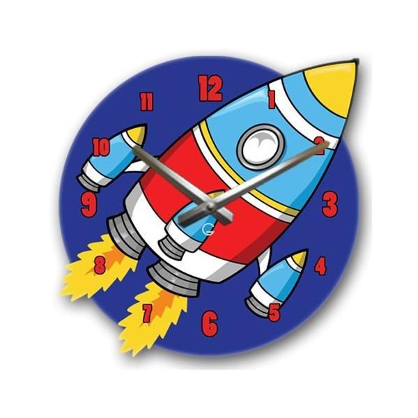 Часы Настенные Детские Rocket (Glozis)