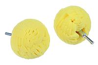 Полировальный шар на дрель твердый для дисков и пр, фото 1