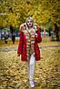 Женская зимняя парка с мехом рыжей лисы, фото 2