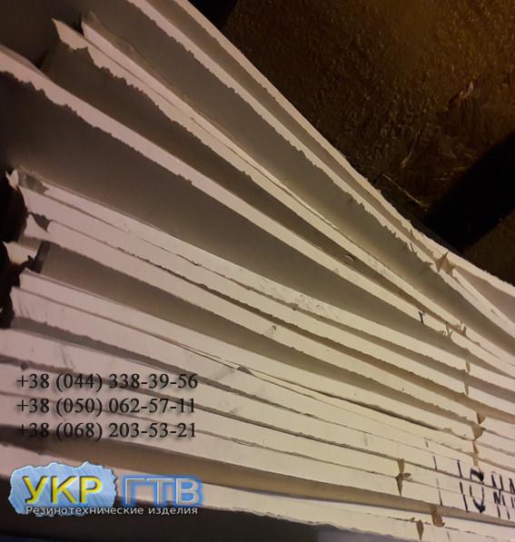 Резина Пищевая Белая 8 мм 700х700мм