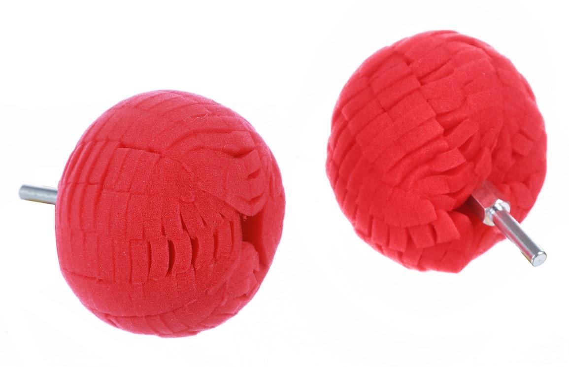 Полировальный шар на дрель мягкий для дисков и пр