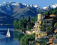 Картина по номерам.  Вдохновляющая Италия 40х50см арт. КНО3511