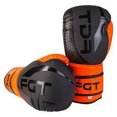 Боксерские перчатки на липучке FGT