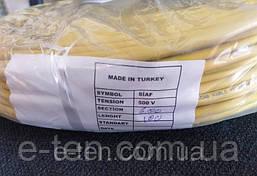 Провід мідний термостійкий SIAF-XT переріз 6.00 мм/ L=100м (в термостійкої ізоляції +250°С) ELCAB KABLO,Туреччина