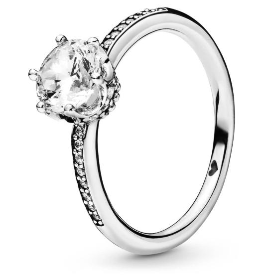 Серебряное кольцо «Сверкающая безупречность»