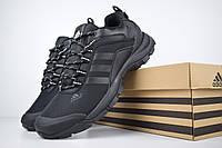 Мужские зимние кроссовки в стиле Adidas Climaproof низкие черные