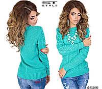 Женский модный свитер  НШ7130, фото 1