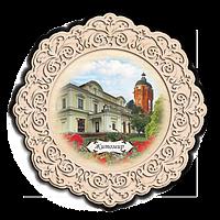 Тарілка дерев`яна. м. Житомир