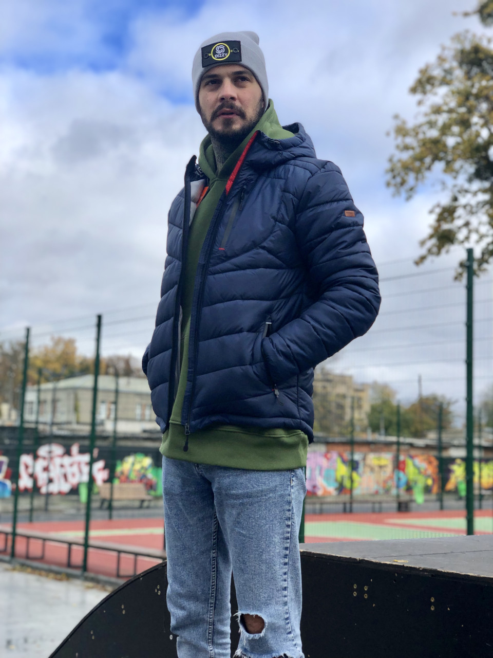 Мужская зимняя куртка  Arctic