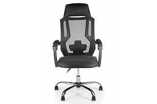 Кресло Barsky Color Black Permanent contact Arm_pad Chrome, фото 3