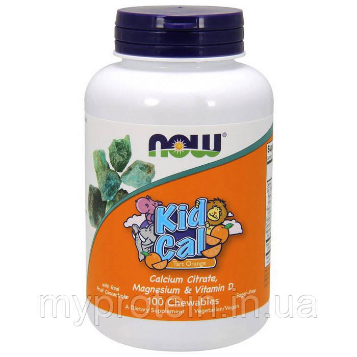 NOW Витамины и Минералы Kid Cal 100 chewables