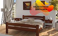 Кровать двуспальная Каспер из массива бука 160х190 см. Дримка
