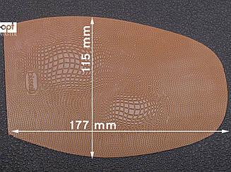 Подметка резиновая BISSELL, art.RB 51, цв.тропик