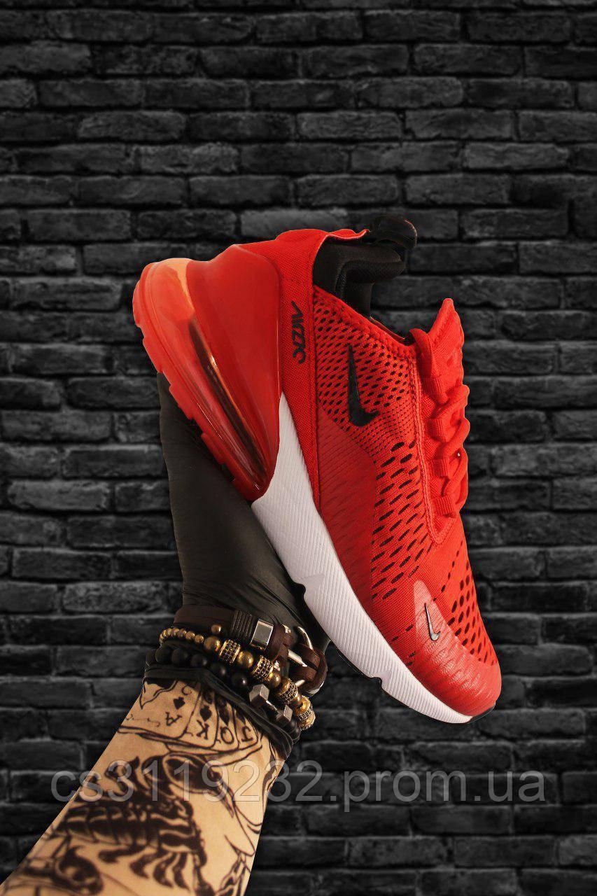Женские кроссовки Nike  Air Max 270 Red White (красные)