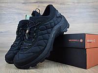 Мужские зимние кроссовки в стиле Merrell ICEBERG MOC  черные, фото 1