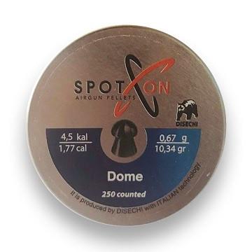 Пули Spoton Dome 0.67 гр (250 шт)
