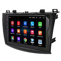 "Штатная магнитола для автомобиля Mazda 3 (2009-2013) 9"" сенсор 1/16 Гб GPS навигация FM USB вход Wi Fi, фото 2"