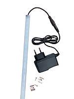 Подсветка интерьера LED, ldf 1000 мм 12в, холодный свет (в комплекте с БП), фото 1