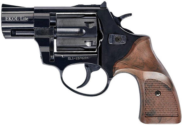 Стартовый револьвер Ekol Lite Matte Black, фото 2
