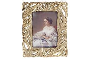 Рамка для фотографии Ажур, 24,5см, цвет - золото, полистоун, 1шт. (440-173)