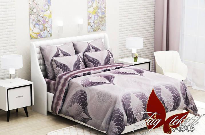 Комплект постельного белья  с компаньоном R6903, фото 2