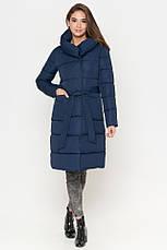 Женская куртка Braggart Tiger Force синяя на зиму теплая cиняя размер  46 48 50 52, фото 3