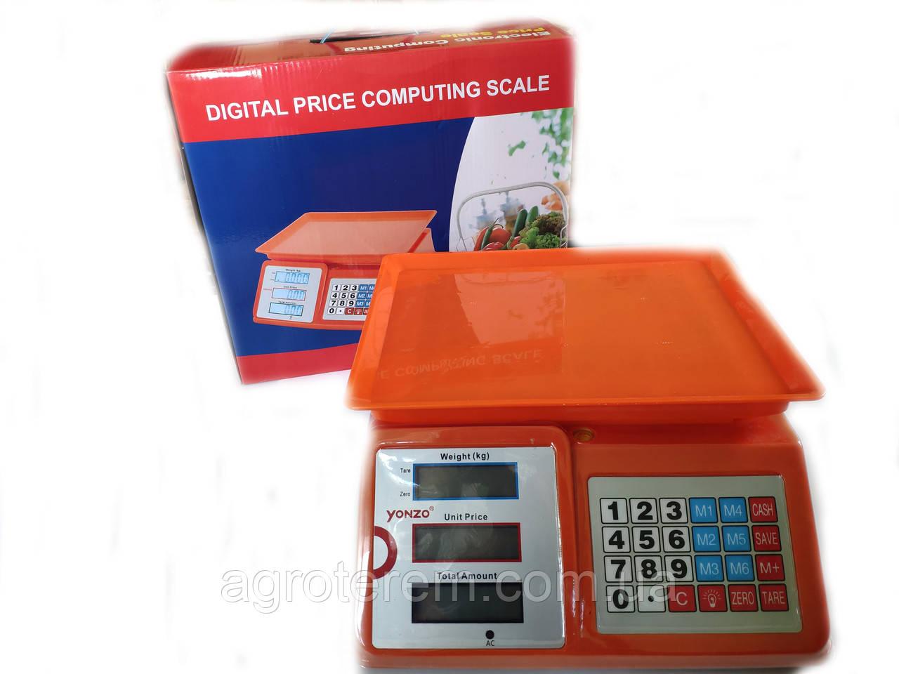 Весы электронные 40 кг (мини), фото 1