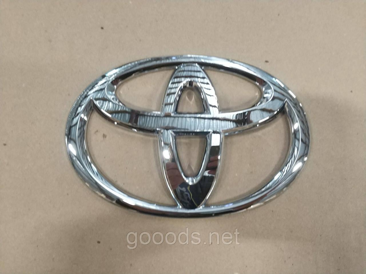 Эмблема Toyota на клею, 160*105 мм
