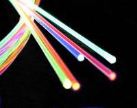 Кабель бокового свечени 3 мм, оптическое волокно (световод) торцевого свечения