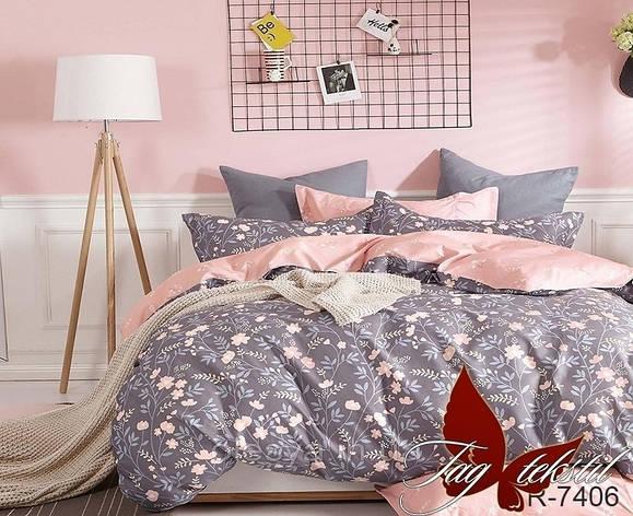 Комплект постельного белья с компаньоном R7406, фото 2