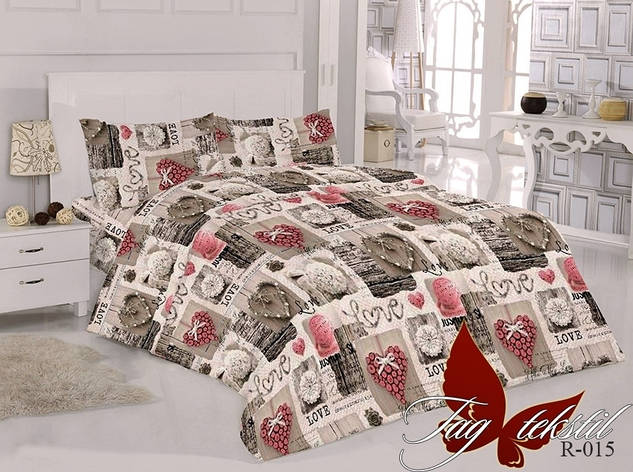 Комплект постельного белья R015, фото 2
