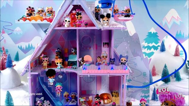 LOL Surprise Winter Disco: Chalet DollHouse, зимний дом-шале