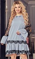 Платье молодежное большого размера 851951-3