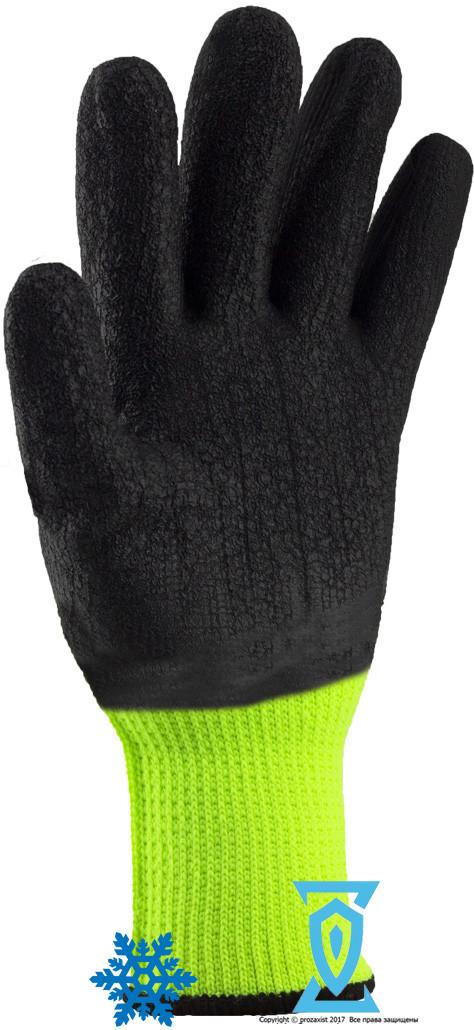 """Перчатки рабочие теплые покрытыe вспененным латексом """"Rdrag Y"""""""
