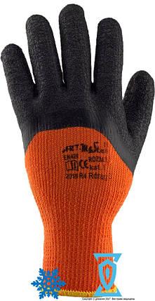 """Перчатки рабочие теплые покрытыe вспененным латексом """"Rdrag O"""", фото 2"""