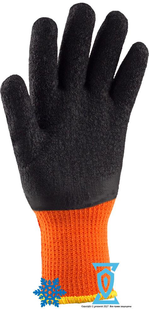 """Перчатки рабочие теплые покрытыe вспененным латексом """"Rdrag O"""""""