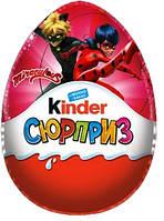 Огромный Kinder Surprise Новогодний / Киндер Сюрприз Lady Bug 220 г + Сертификат соответствия
