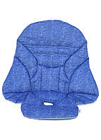 Чехол DavLu к стульчику для кормления Peg Perego Siesta Под джинс голубой (Ch-508), фото 1