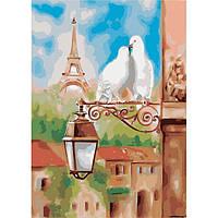 """Картина по номерам """"Весна в Париже"""" 36*50"""