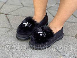 Уггі жіночі зимові чорні