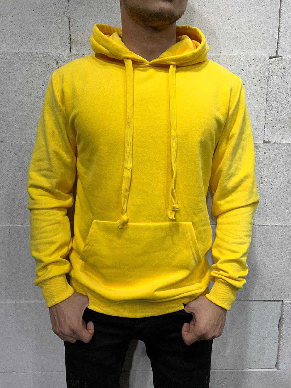 Мужское худи 2Y Premium 9096 yellow размер ХЛ