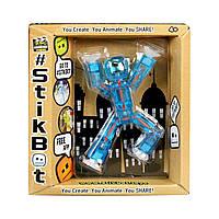 Фигурка для  анимационного творчества STIKBOT S1 (синий)