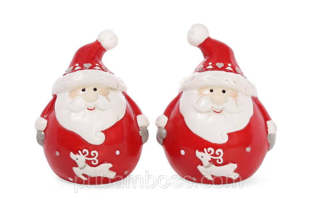 Набор для специй Санта: солонка и перечница