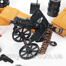 Военные фигурки,Элитные Немецкие Войска Worlf of War II военный конструктор , аналог лего, BrickArms, фото 2