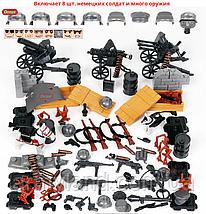 Военные фигурки,Элитные Немецкие Войска Worlf of War II военный конструктор , аналог лего, BrickArms, фото 3