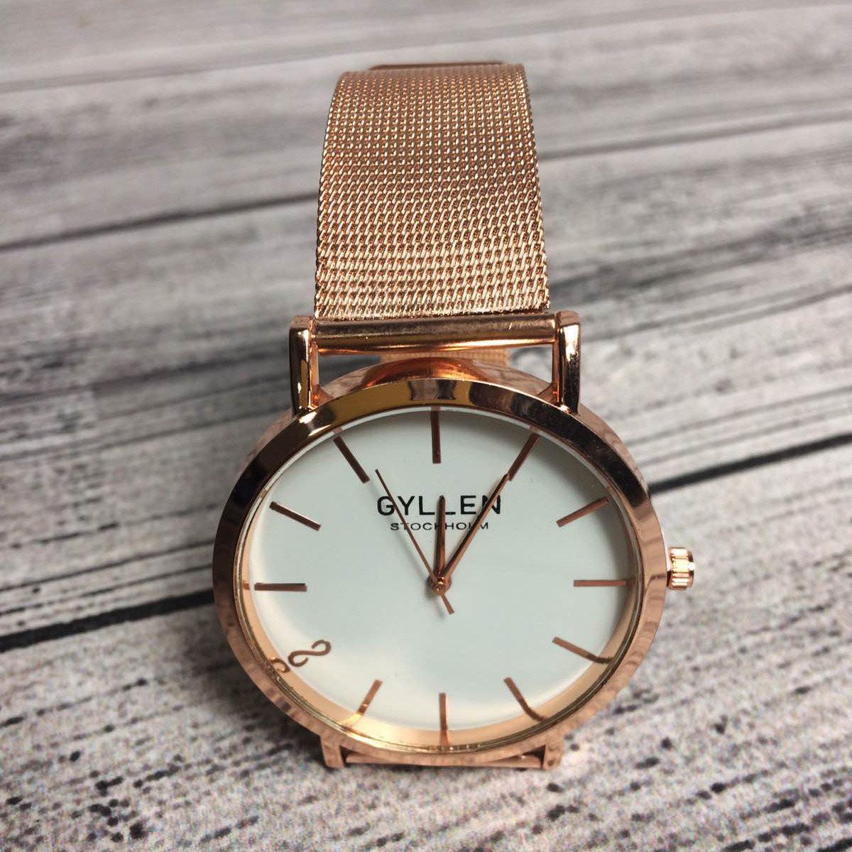 Женские часы Gyllen - Розовые