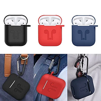 Silicone Case for AirPods Водонепроницаемый Four Pour