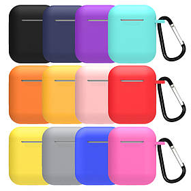 Silicone Case for AirPods Carrying Hang Case