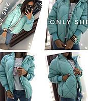 Женская модная теплая куртка  ЛЯ7257, фото 1